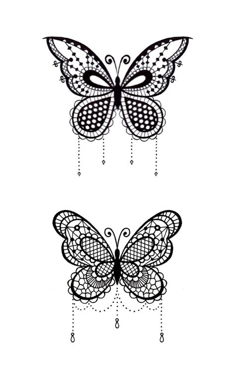 1000 ideas about lace butterfly tattoo on pinterest