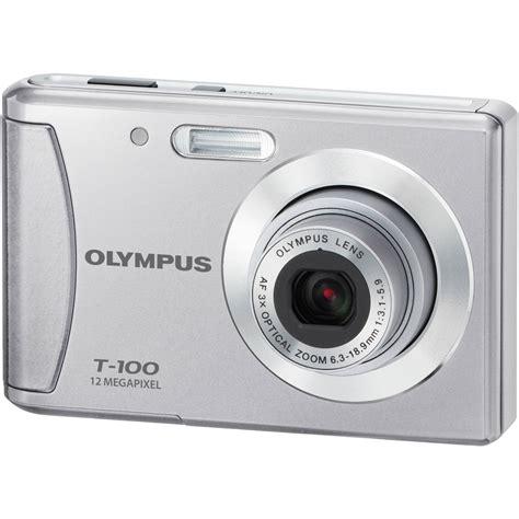Kamera Olympus T 100 olympus t 100 digital silver 227475 b h photo