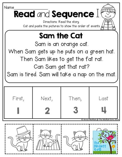 January No Prep Math And Literacy Kindergarten Reading