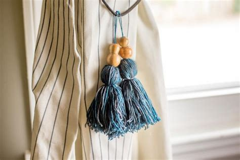 how to make tassels for curtains how to make tassel curtain tie backs decoration for house