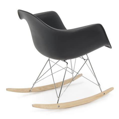 Style Rocking Chair - retro dsw eames style modern arm chair rar rocker rocking