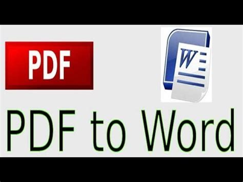 convert pdf to word mac youtube how to convert pdf to word without software youtube