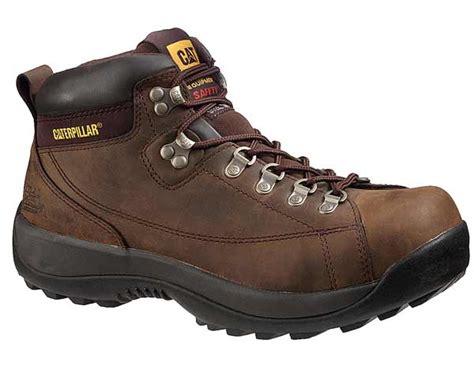caterpillar logger safety toe boot cat work boot
