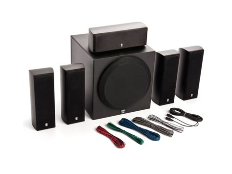 yamaha  home theater speaker system  powered