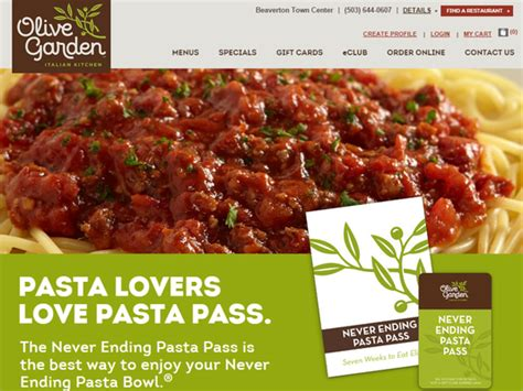 olive garden website unsuccessful 100 olive garden pass purchase