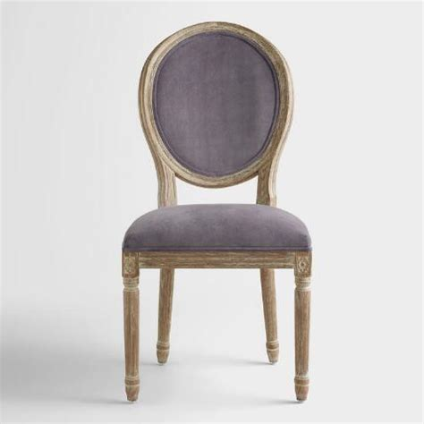 Plum Dining Chairs Plum Velvet Back Dining Chairs Set Of 2
