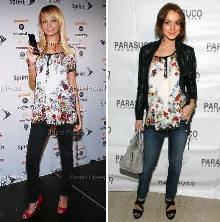 Lohan Vs Schiffer Who Wore It Better by Fashion Just Another Weblog