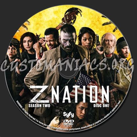 Z Nation Season 2 forum tv show custom labels page 54 dvd covers labels by customaniacs