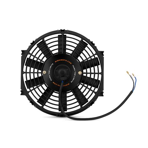 mishimoto slim electric fan 12 mishimoto slim electric fan 10 quot by mishimoto