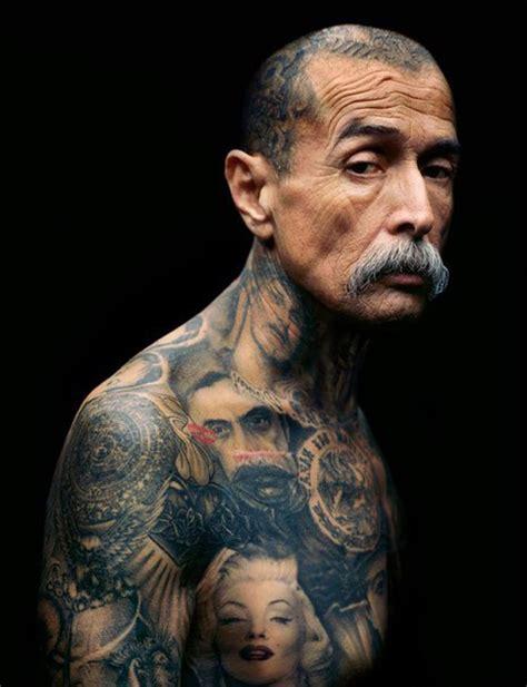 full body tattoo old man old gang member full body chicano tattoo best tattoo