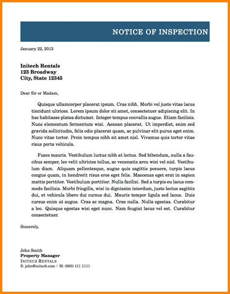 formal letter heading card authorization