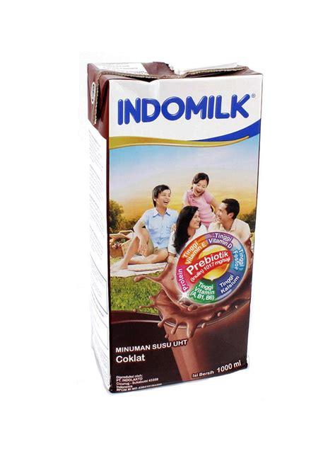 Indomilk Choclate indomilk cair uht chocolate tpk 1000ml klikindomaret