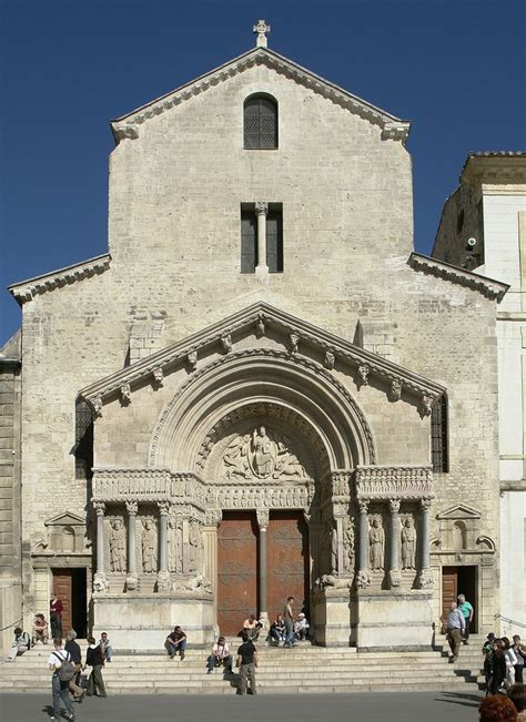 romanesque pilgrimage and spain on pinterest church of st trophime arles provence pinterest