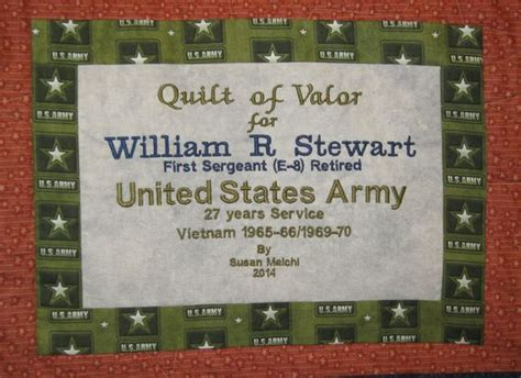 Quilt Of Valor Label by The World S Catalog Of Ideas