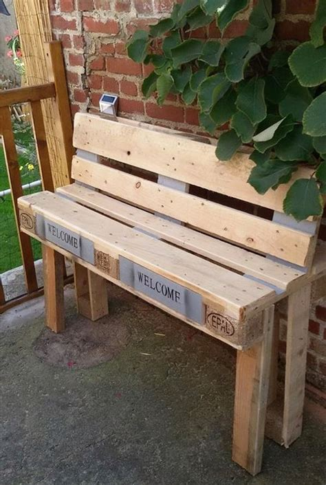 diy sit up bench creative pallet wood repurposing designs dearlinks