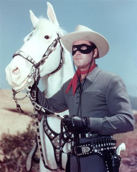 Lone L by Clayton Silver Lone Ranger Tv Color Glossy 8x10 Photo Picture Ebay