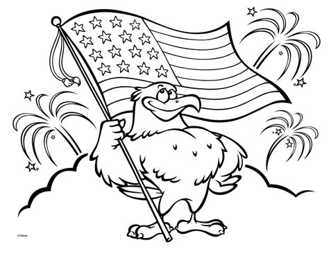 coloring pages bald eagle and us flag american flag coloring pages best coloring pages for kids