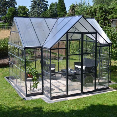backyard greenhouses canada palram canada 702422 garden chalet t greenhouse lowe s