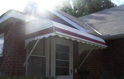 Two Step Awning by Chuck S Aluminum Products Awning Canopy Enclosures