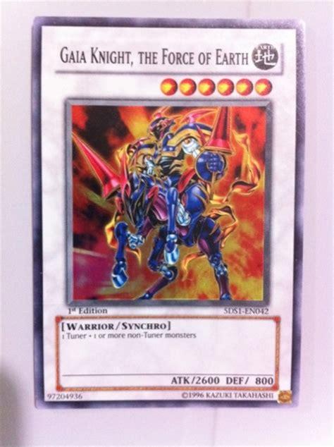 Kartu Yugioh Ori Gaia The Of Earth free gaia the of earth holofoil yu gi oh trading cards listia auctions