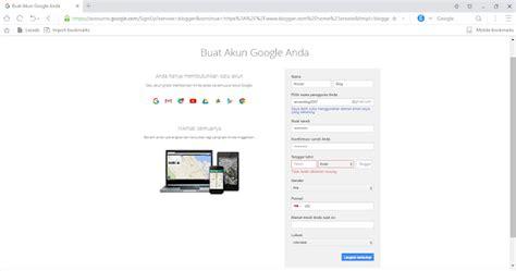 cara membuat form login seperti gmail cara mudah membuat akun gmail aturan blog