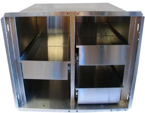 Pantry Inserts by 400 Series Bbq Island Pantry Inserts 42 Quot Stainless Steel