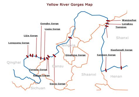 yellow river map 3 most useful yellow river maps maps of the yellow river