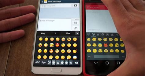 how to see apple emojis on android android users will get the new emojis apple users got digital trends