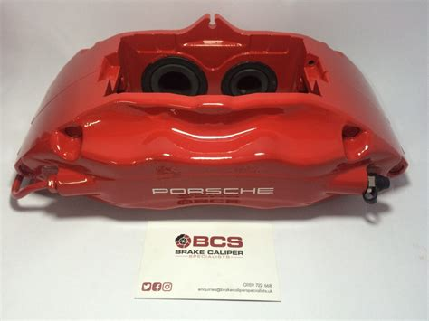 Porsche Red Brake Caliper Paint Kit As Used By Our
