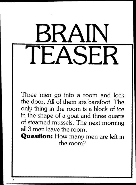 riddles and brain teasers with answers 88 best images about riddles with answers brain