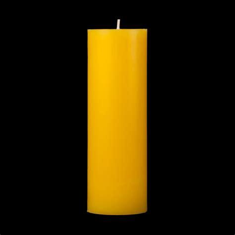 Yellow Candles 2x6 Yellow Pillar Candle