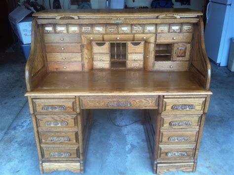Roll Top Desk Oak Rare Wells Fargo Roll Top Desk Vintage 2 Secret