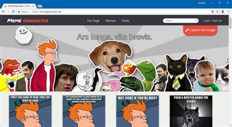 Meme Generator Site - top 5 sites para voc 234 criar seus pr 243 prios memes