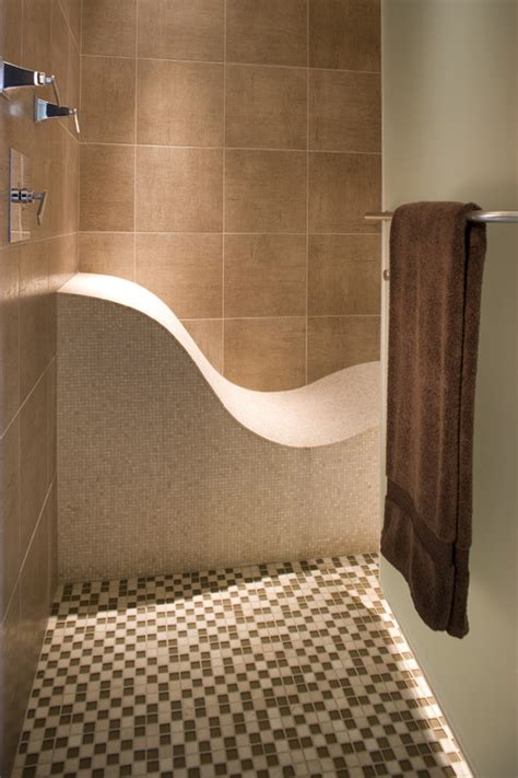 bench in shower curved shower bench