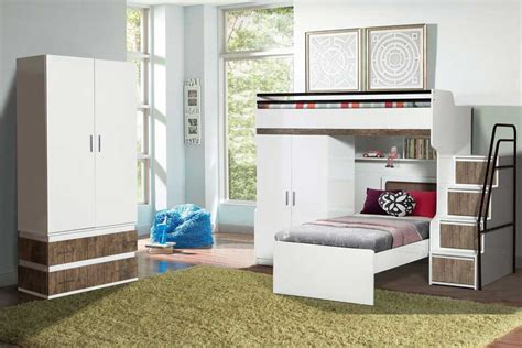 Bunk Bed With Wardrobe A Distinctive Bunk Bed Range Invented And Built By Babios