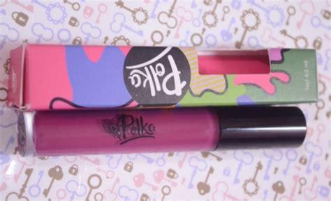 Lipstik Transparan product review mencoba lipstik matte cair dari brand lokal polka