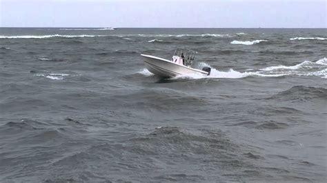 boat r in jupiter 22 foot center console fishing boat in chop of jupiter