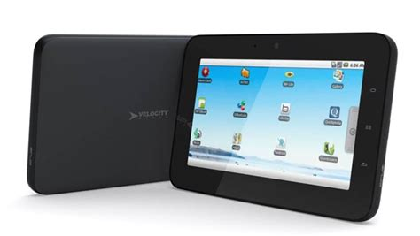 android tablet running velocity micro ereader and tablet running on android os gadgetsin