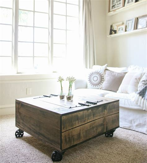 pottery barn coffee table with wheels table nautical coffee table tables with wheels pottery