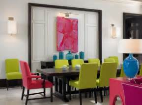 Colorful Dining Room Sets Colorful Chairs A Great Way To Add Dynamism To The