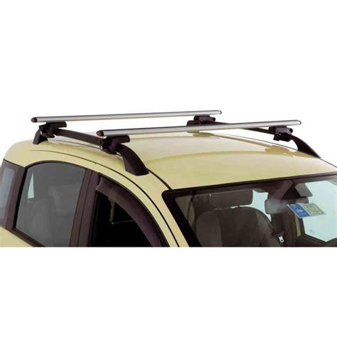 barre porta tutto barre portatutto auto g3 a fissaggio rapido grigio