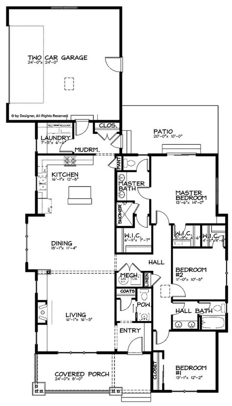 open floor plan bungalow 25 best ideas about bungalow floor plans on pinterest