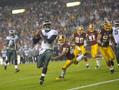 Michael Vick Is Movin On Up by Eagles Crush Redskins