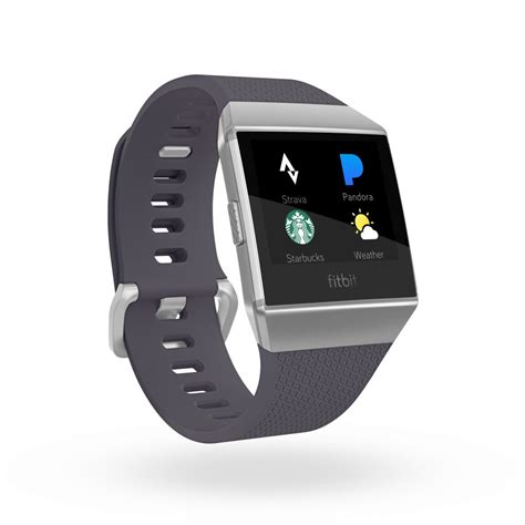 Fitbit Ionic coaching and 4 days of battery life fitbit ionic