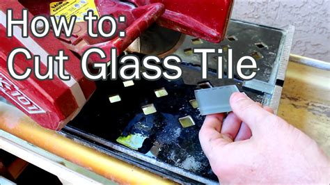 how to cut glass backsplash how to cut glass tile