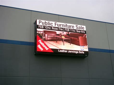 outdoor display outdoor led screen