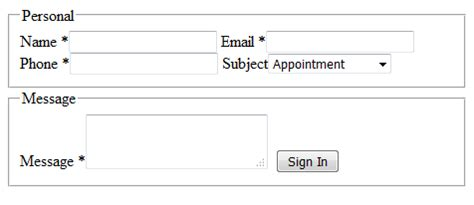 membuat form html dengan css membuat form menarik menggunakan html dan css juga langkahnya