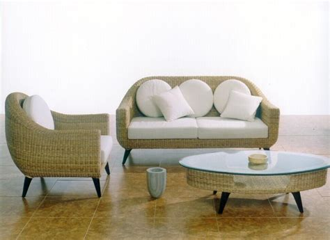 wicker couches rattan furniture natural beauty and simplicity casual