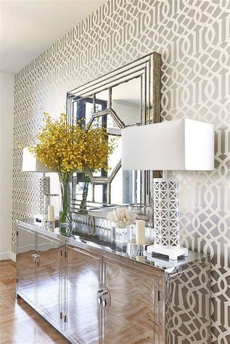 25 best ideas about foyer wallpaper on dining
