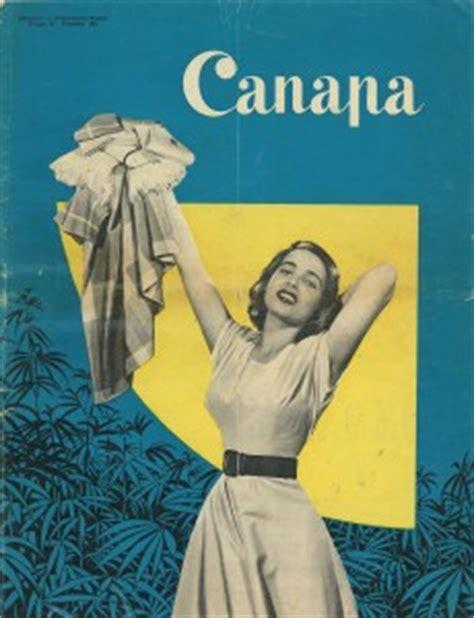 canapa la rivista a fascicoli per donne 1954 prima parte trame di canapa